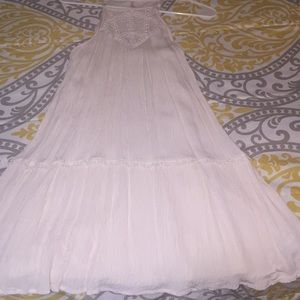 Xs off white dress